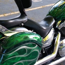 Photo Of Flames Custom Motorcycle Paint Orem Ut United States