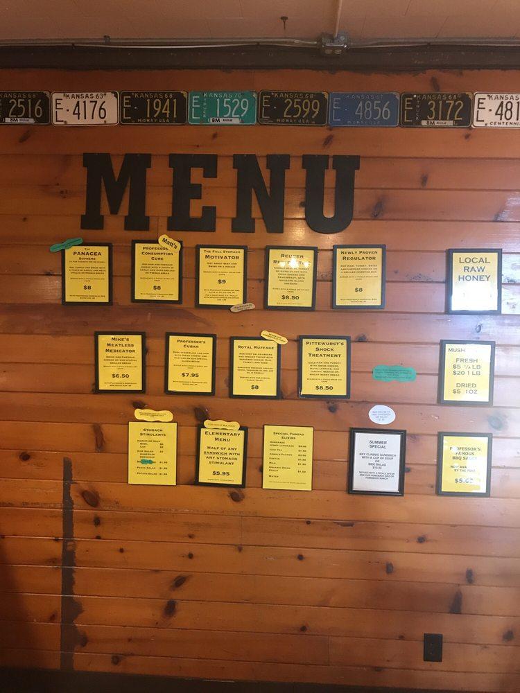 Professor's Classic Sandwich Shop & More: 521 E 12th St, Hays, KS