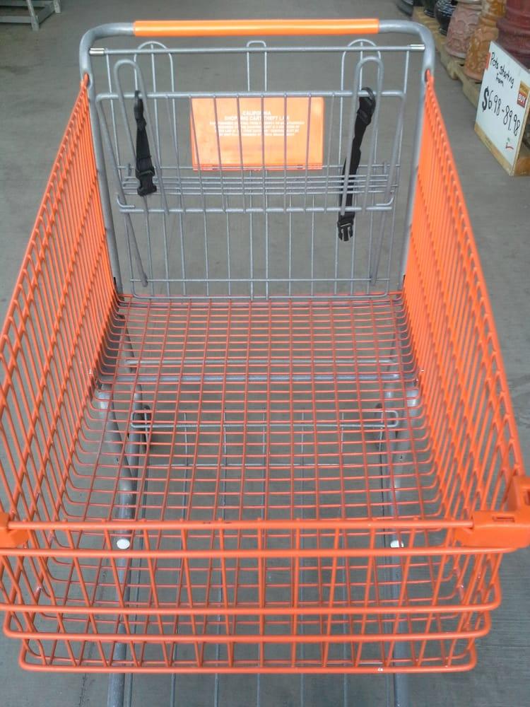 Empty Home Depot Shopping Cart Newark CA Yelp