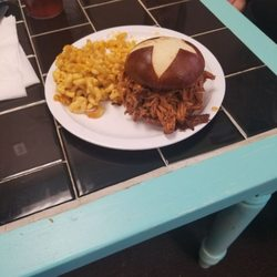 Photo Of Outside The Box Cafe Jeffersonville Oh United States Pulled Pork