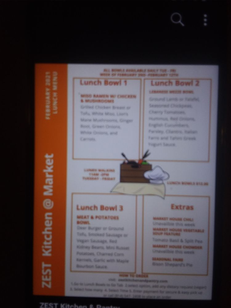 Zest Kitchen and Pantry: 13373 Highway 618, Conneaut Lake, PA