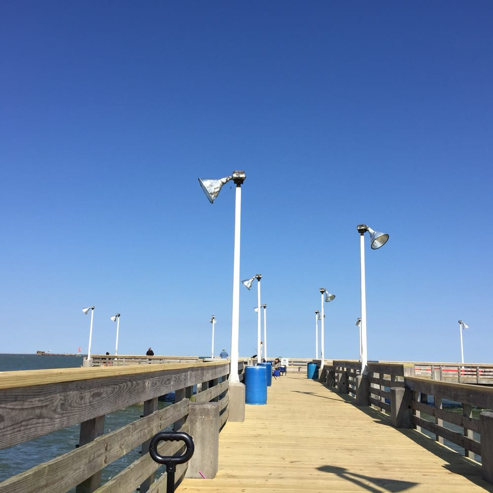 Seawolf fishing pier this is seawolf fishing pier in for Seawolf park fishing report