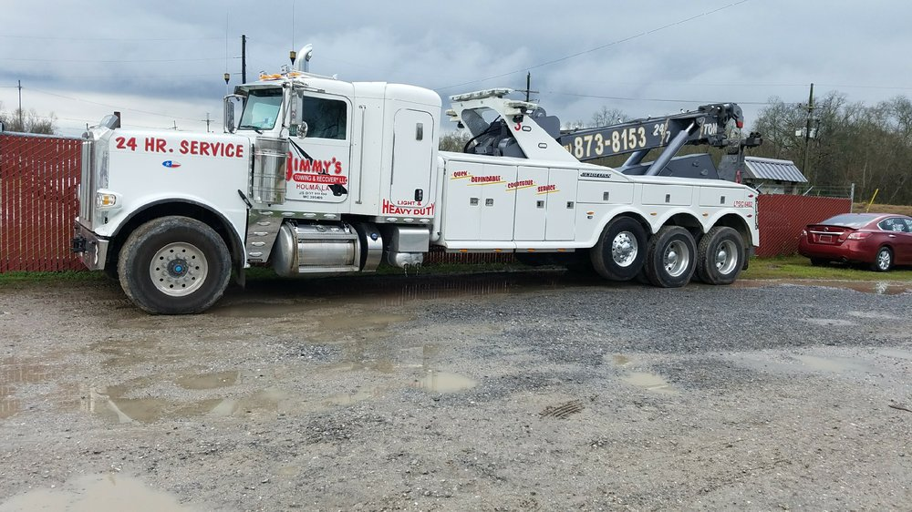 Jimmy's Towing & Recovery: 415 N Hollywood Rd, Houma, LA