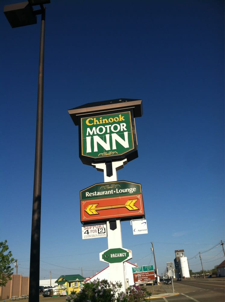 Chinook Motor Inn & Lounge: 100 Indiana, Chinook, MT