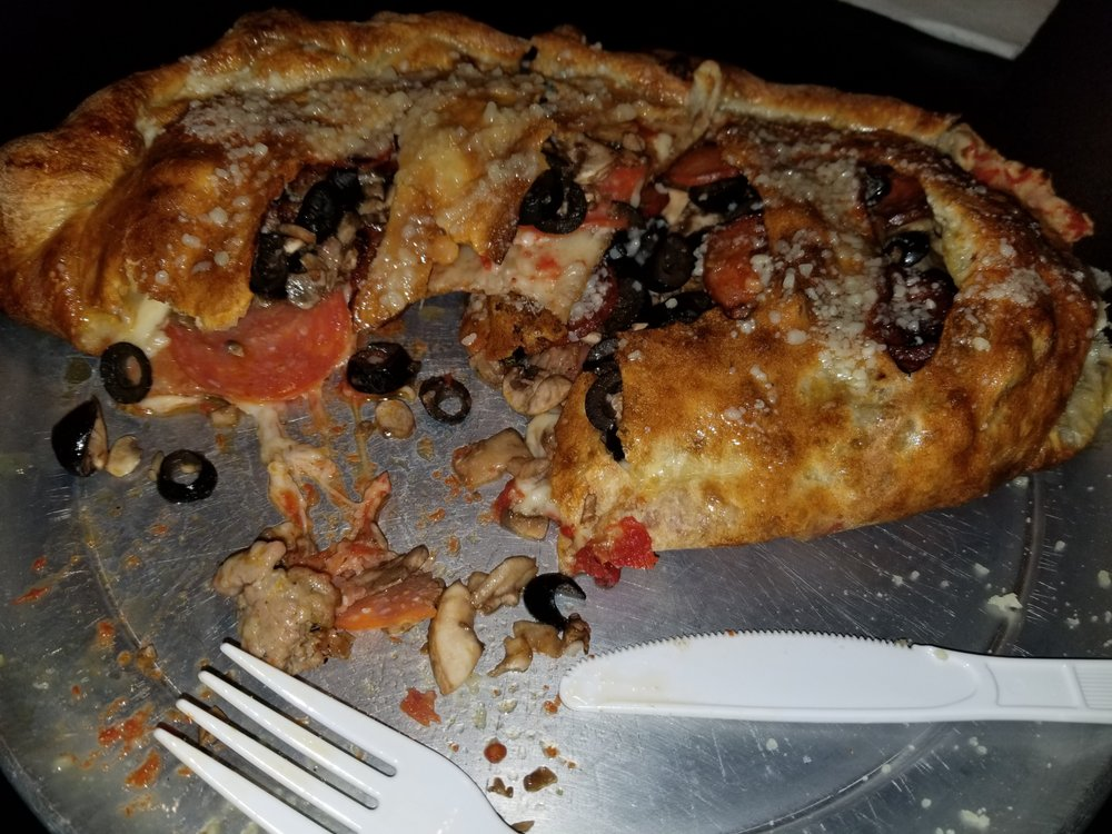 Pizza Plus: 19018 E Hwy 26, Linden, CA