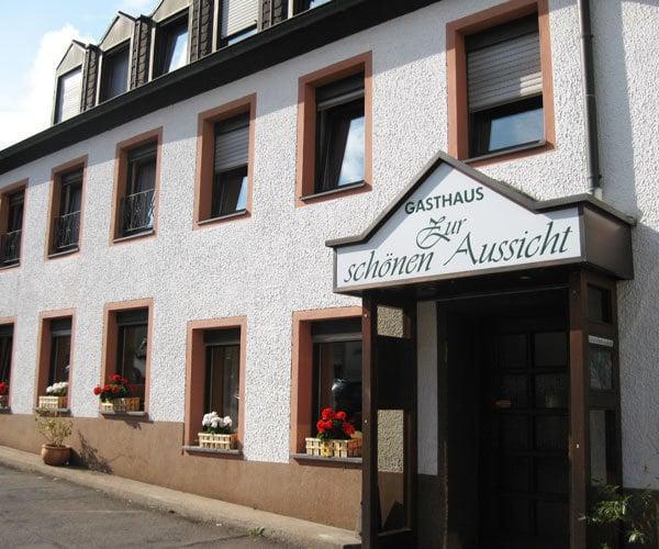 Restaurant Zur Schonen Aussicht Deutsch Markusberg 32 Trier