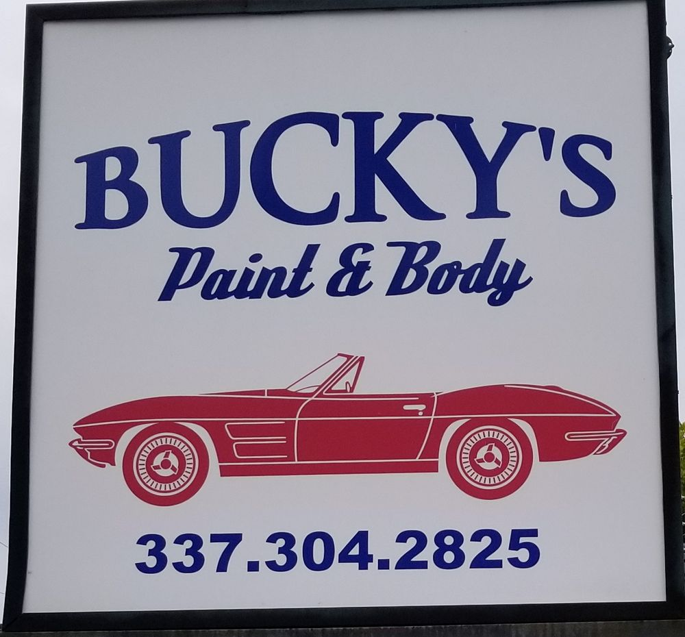Bucky's paint and body: 4014 Brinlee St, Lake Charles, LA