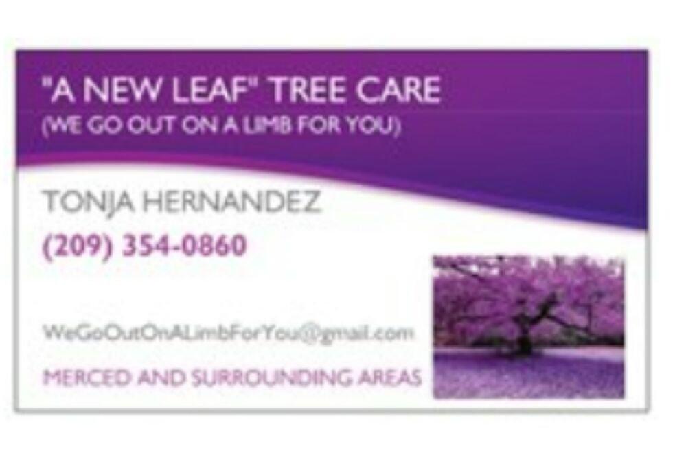 A New Leaf Tree Care: Merced, CA