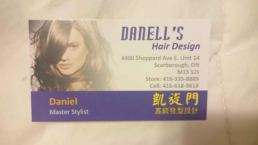 Danell\'s Business Card - Yelp