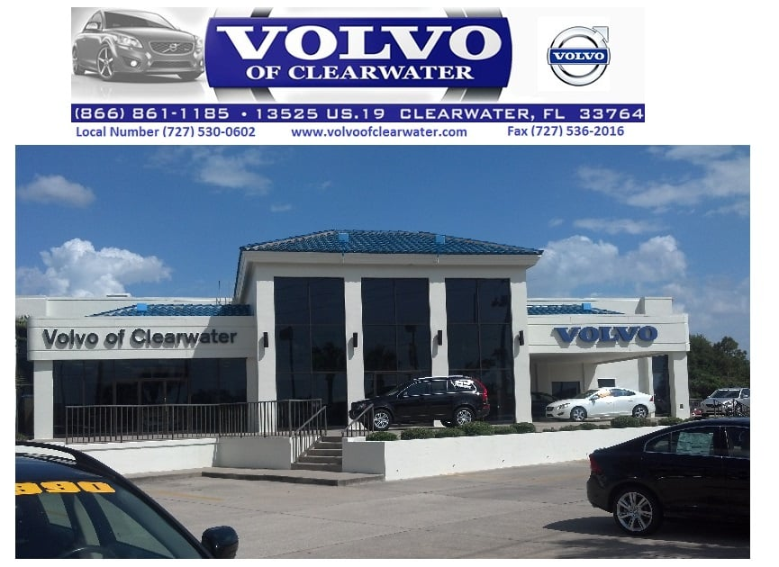 volvo of clearwater located at 13525 us 19 n, clearwater, fl 33764