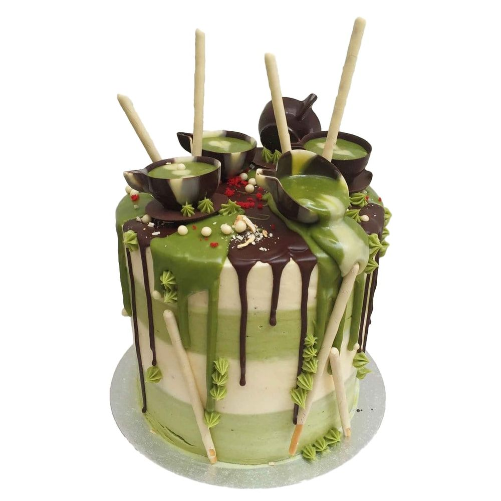 Birthday Cake Matcha Order Online London Delivery Yelp