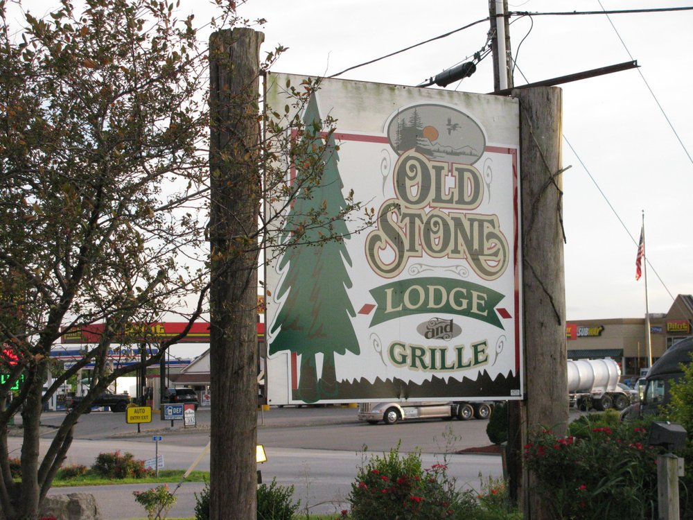 Old Stone Lodge & Grille: 6908 S State Rd 66, Leavenworth, IN