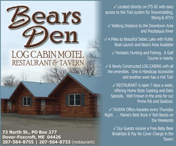 Bear's Den Motel: 73 North St, Dover-Foxcroft, ME