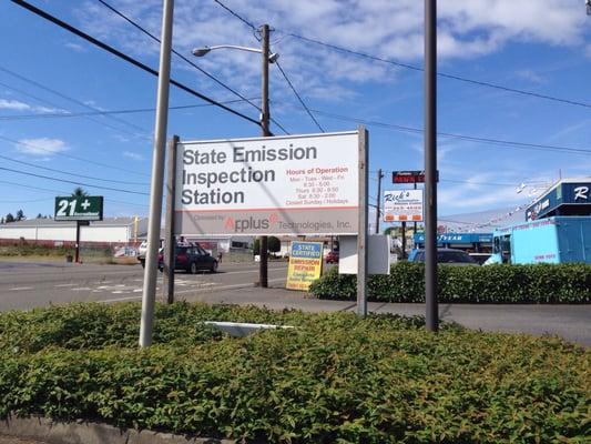 Washington Emissions Testing 12040 Aurora Ave N Seattle, WA