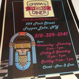 Photos for Ohana's 1950's Diner   Menu - Yelp
