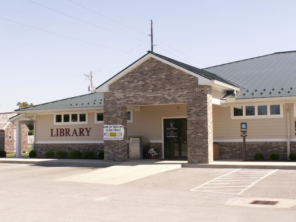 Cedarville Community Library: 20 S Miller St, Cedarville, OH