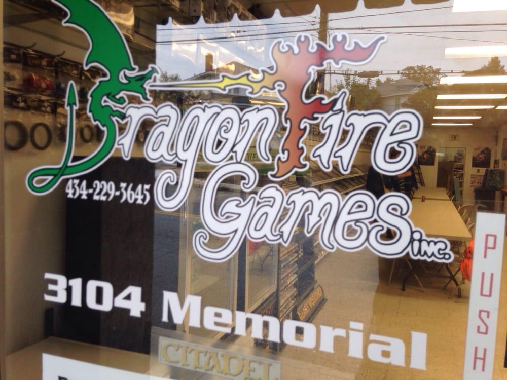 Dragon Fire Games: 3102 Memorial Ave, Lynchburg, VA