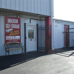 Anderson Self Storage Request A Quote Self Storage