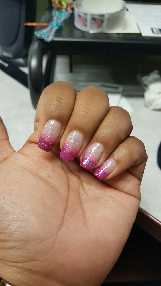 Hombre nails by Rosie...#realnails #gelpolish - Yelp