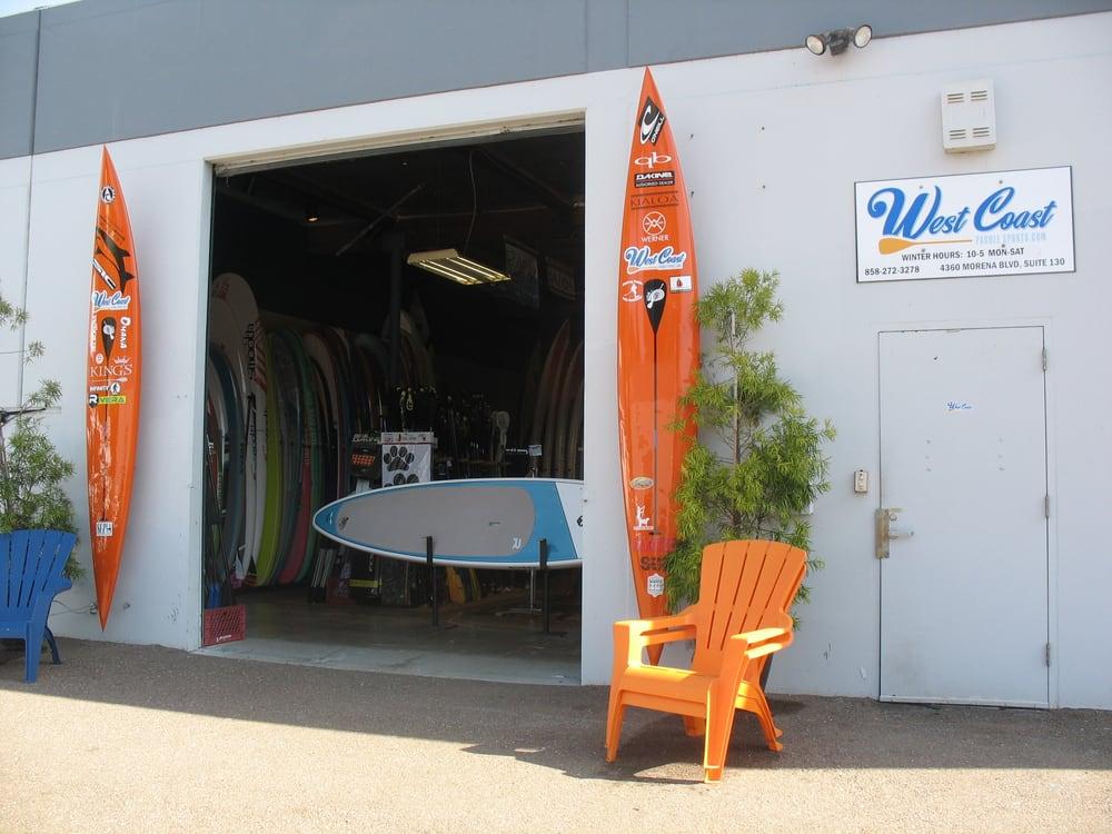 West Coast Paddle Sports: 4360 Morena Blvd, San Diego, CA