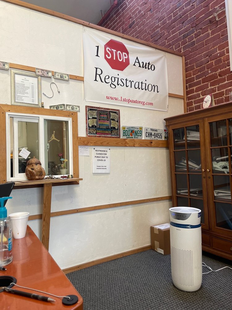 1 Stop Auto Registration: 22576 Mission Blvd, Hayward, CA