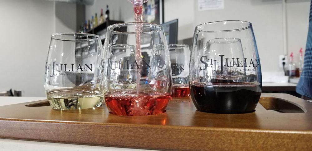 St. Julian Winery - Tasting Room: 518 W 14 Mile Rd, Troy, MI