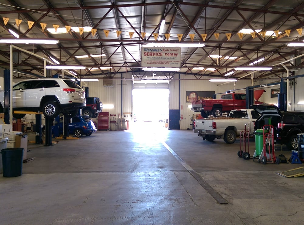 Just A Few Of The Bays We Have Available To Service Our