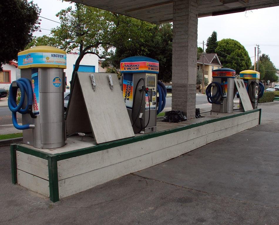 Car Wash San Luis Obispo: The Vacuum & Freshener Area.