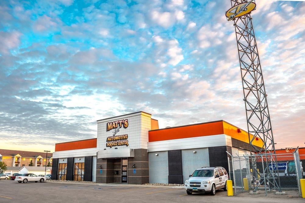 Matt's Automotive Service Center: 1150 43 1/2 St S, Fargo, ND