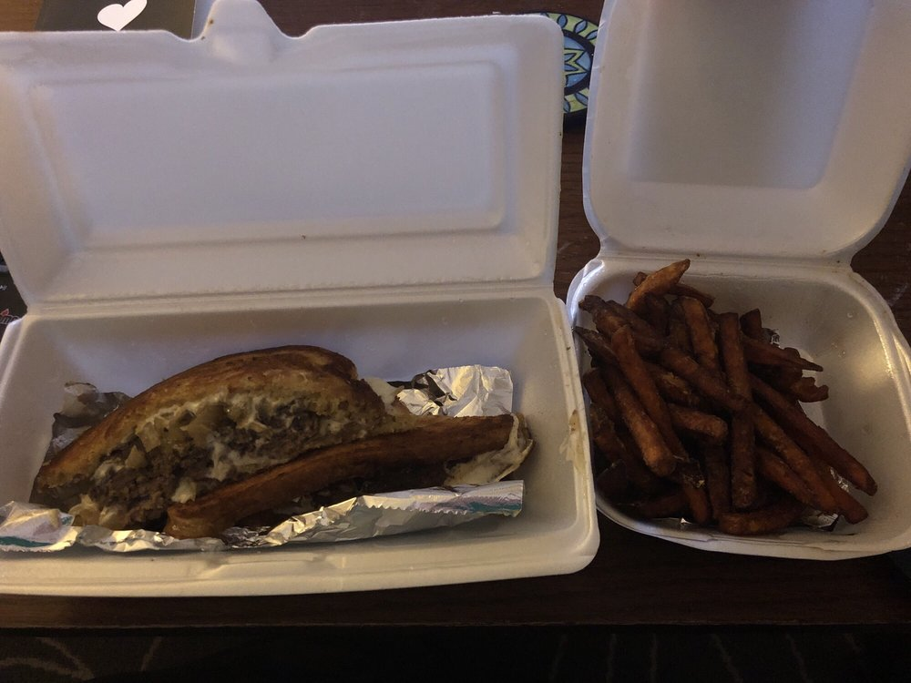 Food from Port City Cheesesteak Company