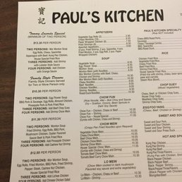 Photos For Paul S Kitchen Menu Yelp