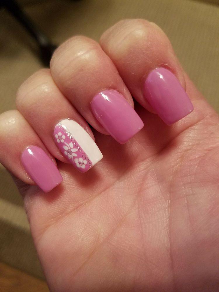 Beautiful nails done by Jessica at Kim\'s nail and spa - Yelp
