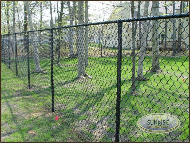 6 Black Chain Link Fence Best Chain 2018