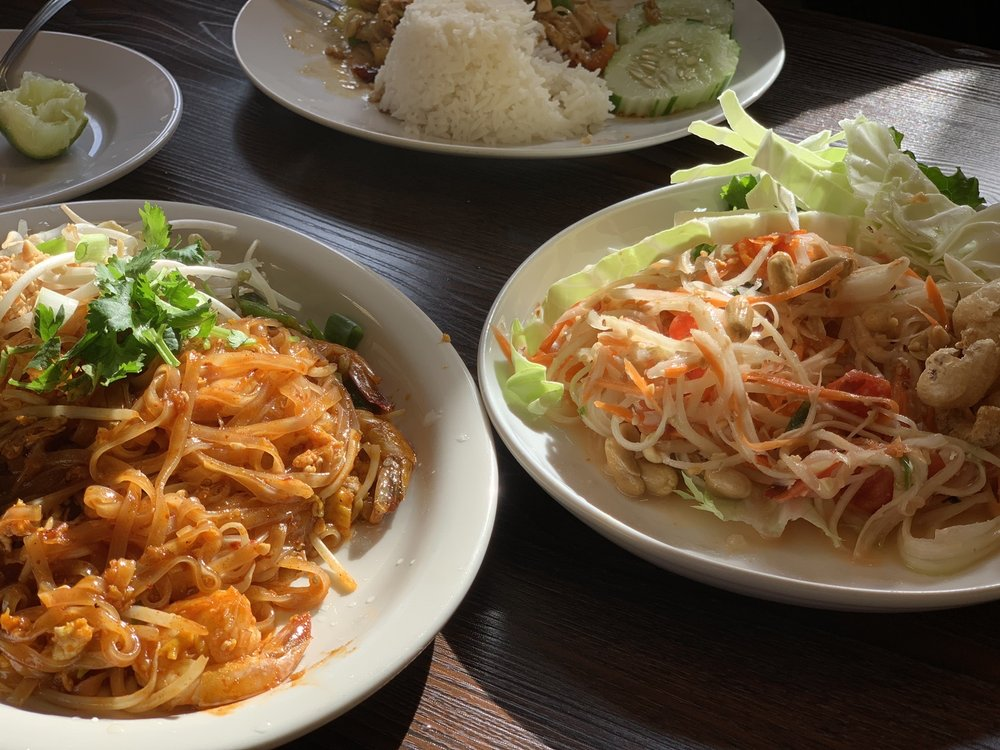 Food from Thai Bowl