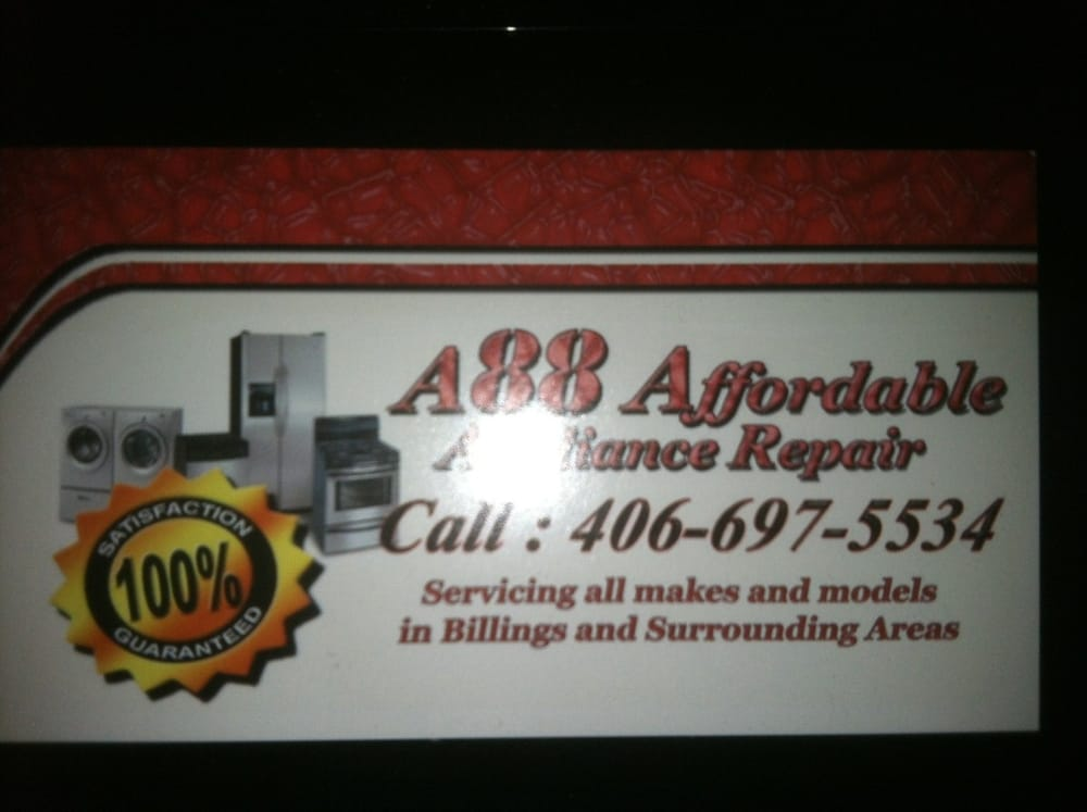 A 88 Affordable Appliance Repair: 2303 Broadwater Ave, Billings, MT