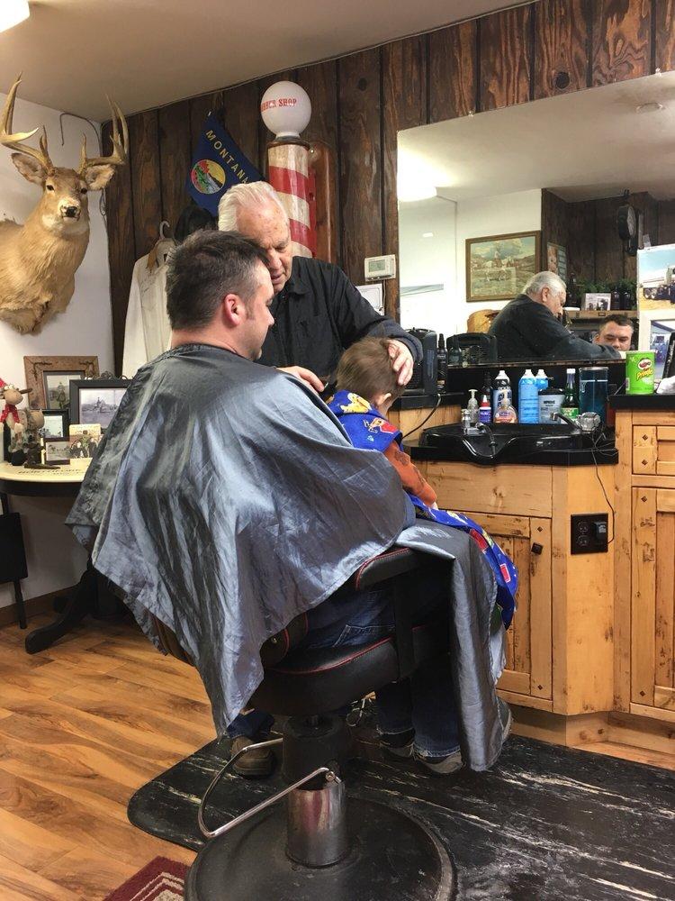 Barber's Shop: 609 Nucleus Ave, Columbia Falls, MT