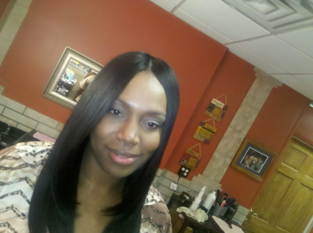 Full Sew In Weave With Bonded Invisible Part Yelp
