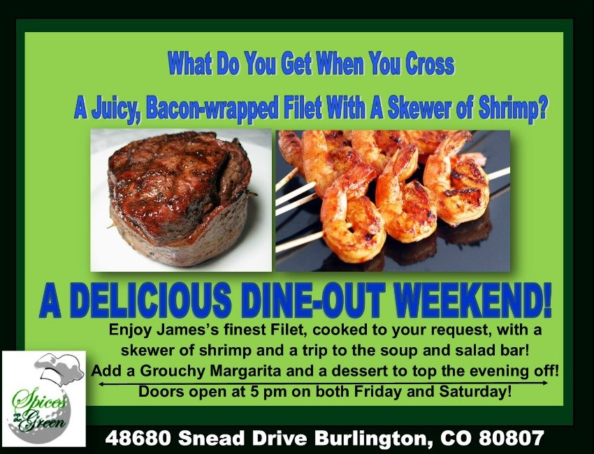 Spices On The Green: 48680 Snead Dr, Burlington, CO