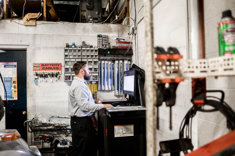 Russ's Wrench Auto Repair: 154 Center St, Clinton, NJ