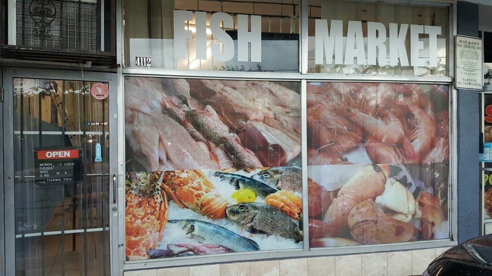 Miami Gardens Fish Market: 4112 NW 167th St, Miami Gardens, FL