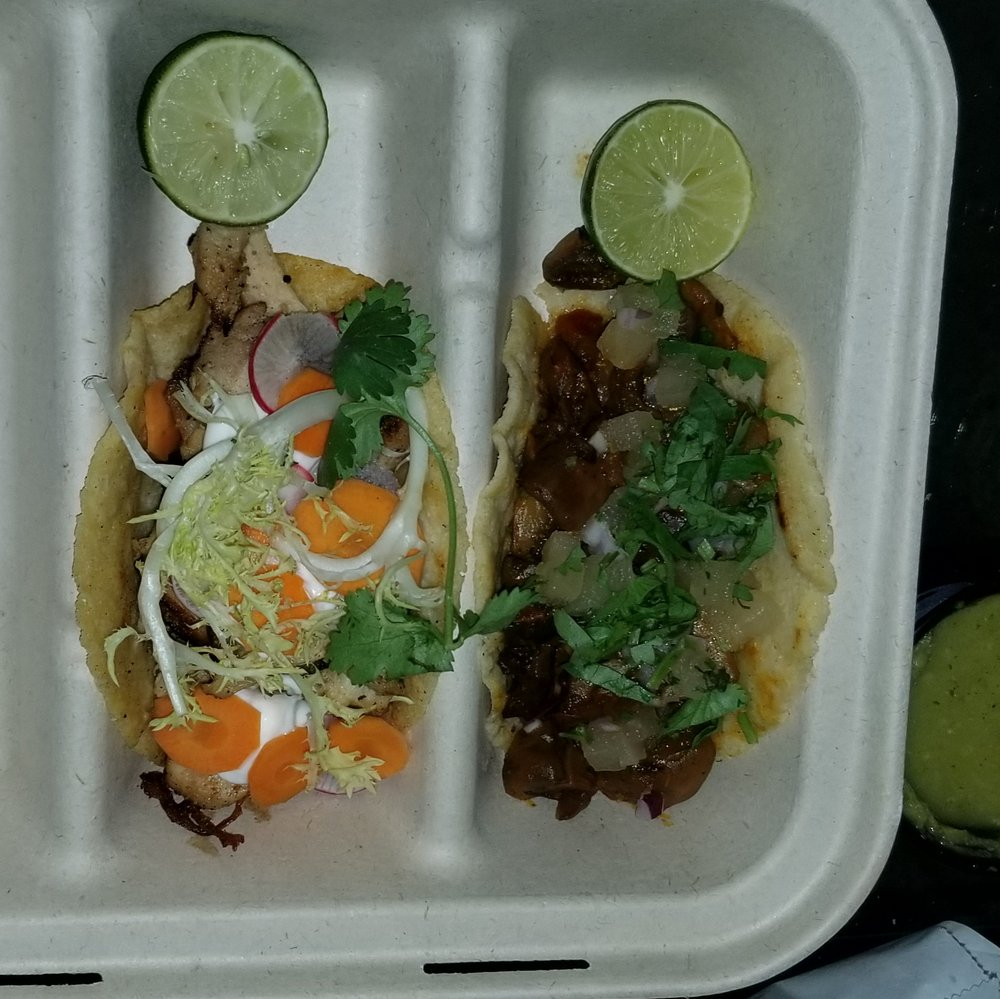 Food from Uptown 66 Taqueria