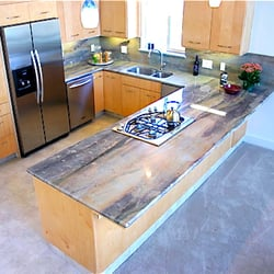 Ordinaire Photo Of Valley Stone Works   Fresno, CA, United States. Quartzite Kitchen  Countertops