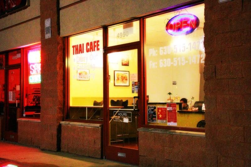 Thai Cafe Downers Grove Il Menu