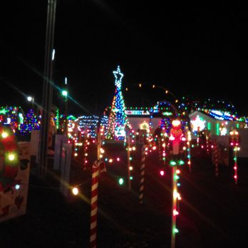 photo of koziars christmas village bernville pa united states lights