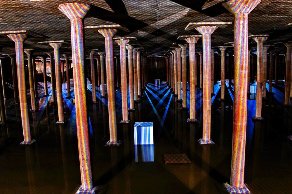 Buffalo Bayou Park Cistern: 105 Sabine St, Houston, TX