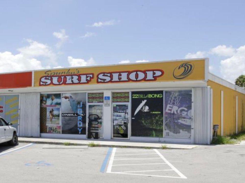 Spunky's Surf Shop: 1403 N US Hwy 1, Fort Pierce, FL