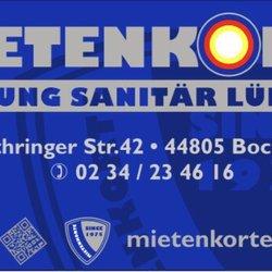 Klempner Bochum mietenkorte klempner installateur lothringer str 42 bochum