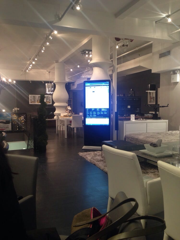 Really Cute Showroom With Giant Touchscreen Interactive Console Yelp