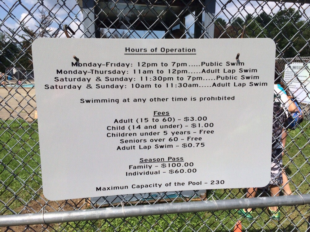 Public Pool at Tawasentha Park: Route 146, Altamont, NY