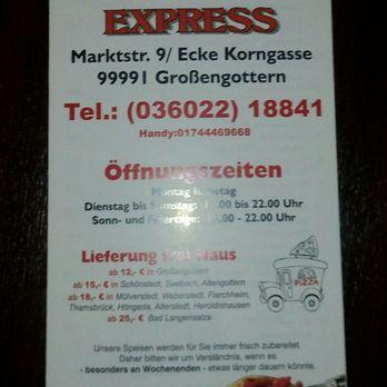 Orient Express Grossengottern Karte.Orient Express Kebab Marktstr 9 Grossengottern